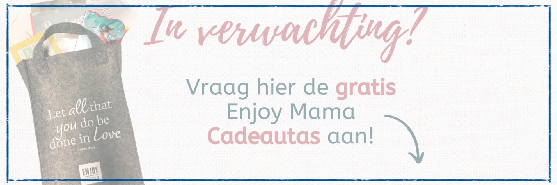 EnjoyMama Cadeautas - Voor als je in verwachting bent!