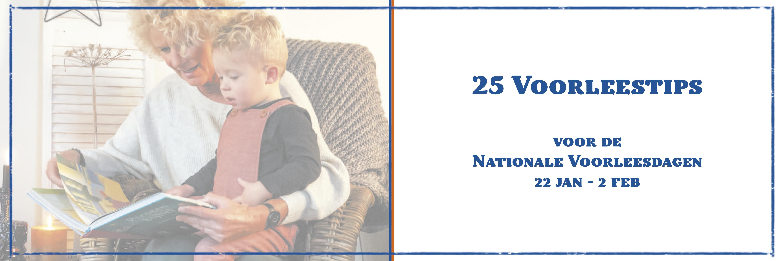 25 Voorleestips voor de Nationale Voorleesdagen 2020