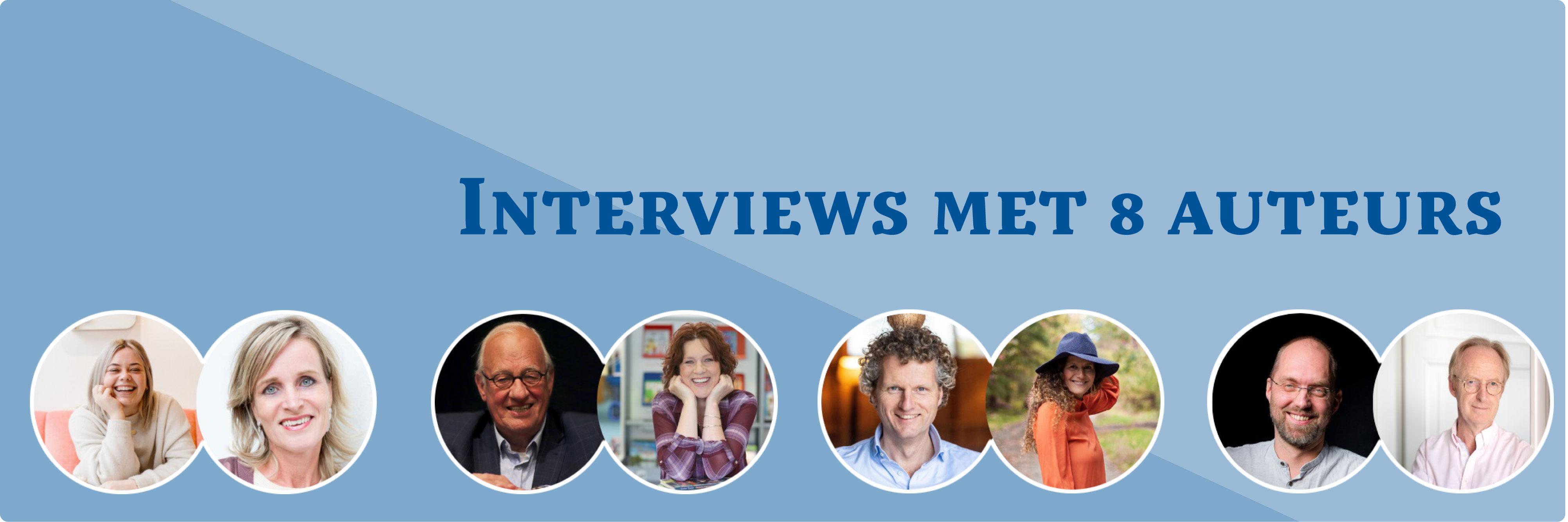 Kijk en Luister mee naar 8 favoriete auteurs
