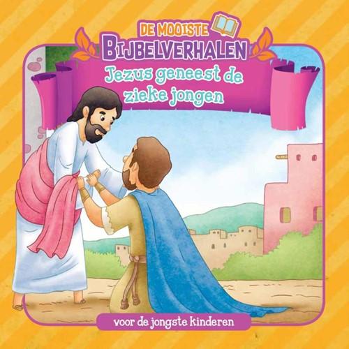 Jezus geneest de zieke jongen (Boek)