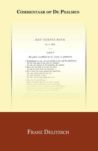 Kommentaar op de psalmen 1 POD (Paperback)