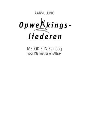 Opwekking muziekboek 820-831 in Es-hoog (Losse bladen/Geniet)