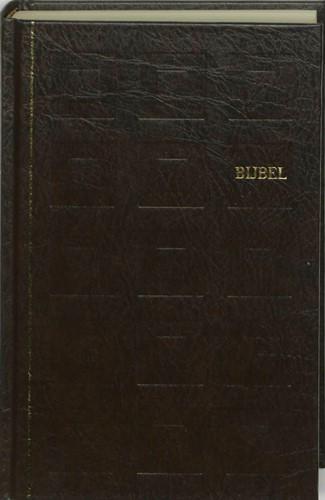 Bijbel huisbijbel nieuwe vertaling kunstleer kleursnede bruin (Hardcover)