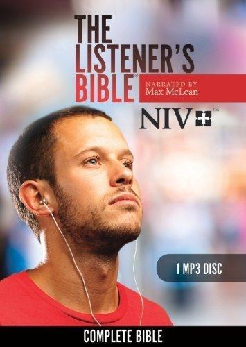 The Listener's Bible NIV (DVD-rom)