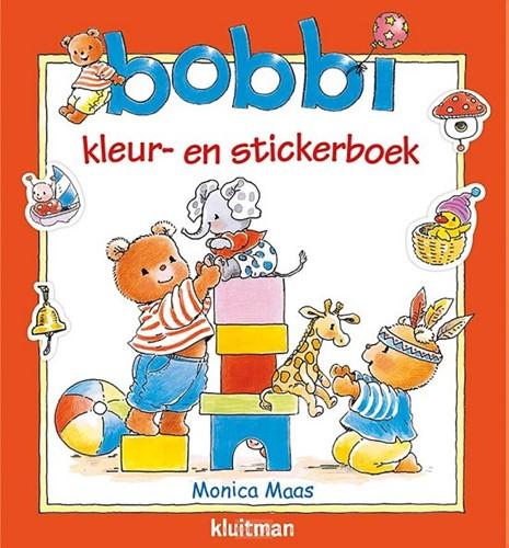 Bobbi kleur- en stickerboek (Paperback)