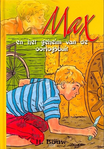 Max en het geheim van de oorlogsbuit (Hardcover)