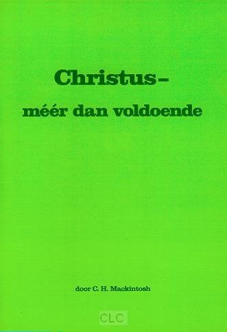 Christus meer dan voldoende (Brochure)