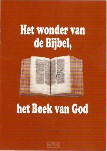 Wonder van de Bijbel het boek van God (Brochure)