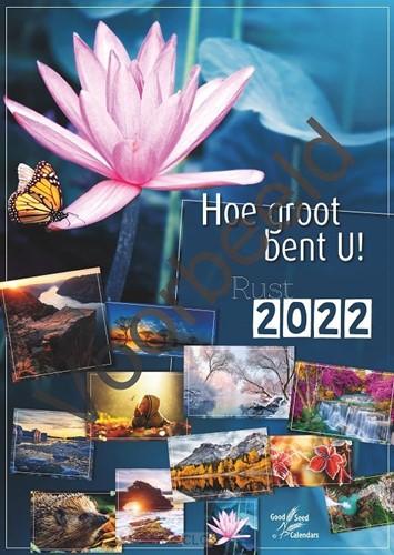 Hoe groot bent U (Fotokalender 2022) (Kalender)