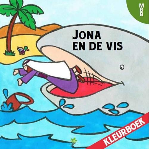 Jona en de vis kleurboek (Boek)
