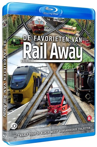De Favorieten van Rail Away (Bluray) (Bluray)