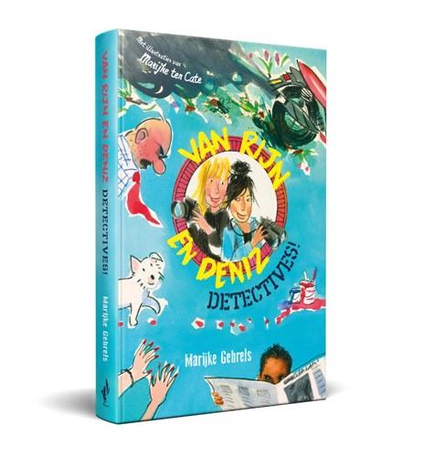 Van Rijn en Deniz: Detectives! (Boek)