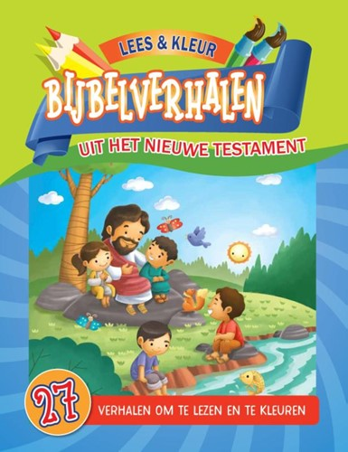 Kleurboek Bijbelverhalen uit het NT (Paperback)
