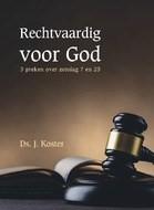 Rechtvaardig voor God (Hardcover)