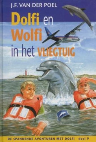 Dolfi en Wolfi in het vliegtuig (Hardcover)