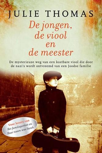 De jongen, de viool en de meester (Boek)