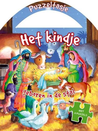 Het kindje geboren in de stal (Hardcover)
