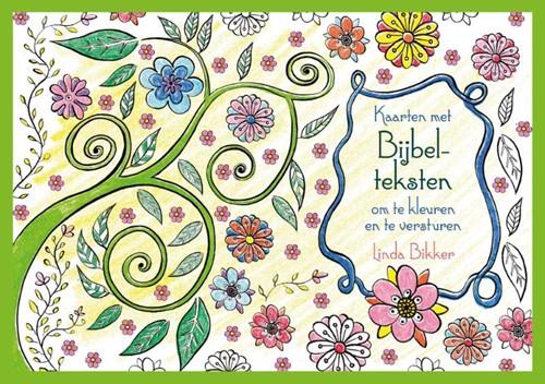 Bijbelteksten en spreuken om te kleuren - en te versturen (Paperback)