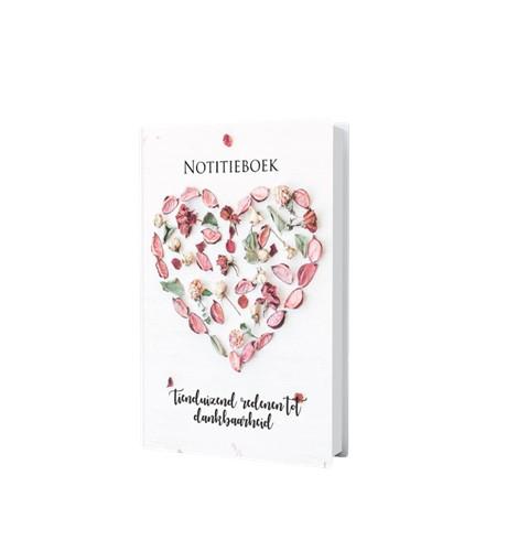 Notitieboek 'Tienduizend redenen tot dankbaarheid' (Hardcover)