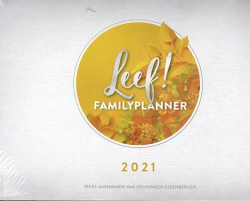LEEF! Familieplanner 2021 (Paperback)