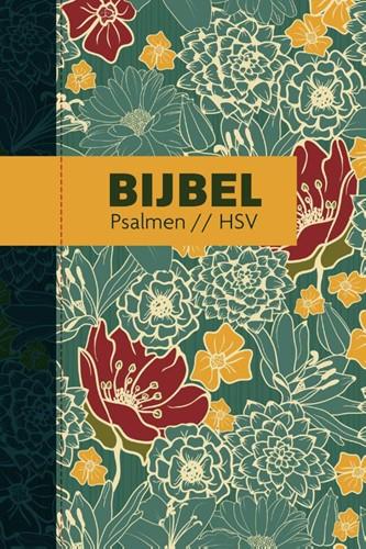 Bijbel (HSV) met psalmen - hardcover bloemen (Hardcover)