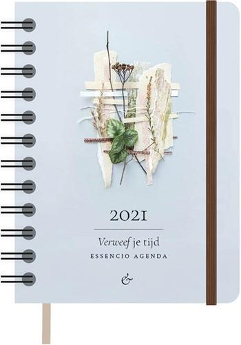 Essencio Agenda 2021 (Klein) (Ringband)