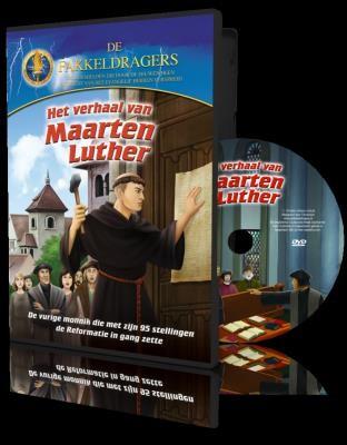Het verhaal van Maarten Luther DvD+boek Maarten Luther CLC (Cadeauproducten)