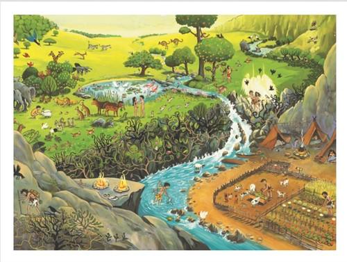 Houten puzzel Zoekbijbel (96 st) (Hout)