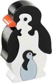 Puzzel Pinguin & Baby (Hout)