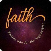 Onderzetter: Faith (nieuw)