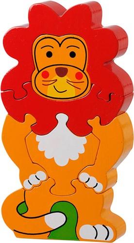 Puzzel Leeuw  1-5 (Hout)