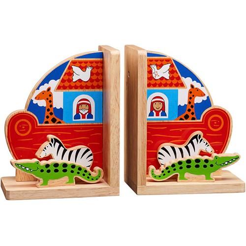 Boekensteun Ark van Noach (Hout)