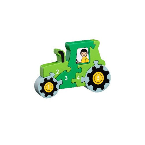 Puzzel Tractor 1-5 (Hout)