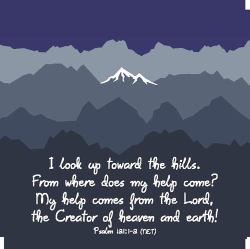 Onderzetter: Mountains (Cadeauproducten)