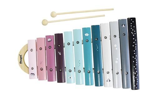 Houten Xylofoon in vrolijke kleuren (Cadeauproducten)