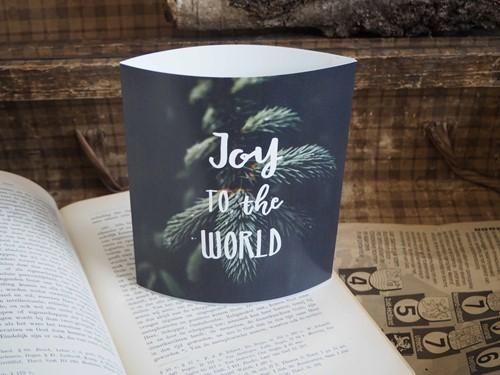 Lichtje voor jou: Joy to the world (Cadeauproducten)