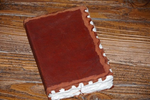 Journal Leer S, Cognac (Paperback)