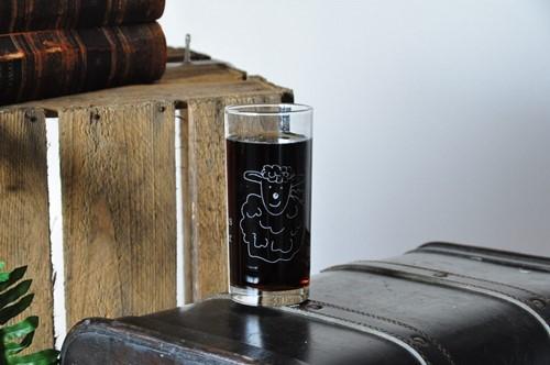 Drinkglas, thema Kids, Schaapje (Glas)