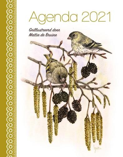 Mattie de Bruine agenda 2021 (werktitel) (Kalender)