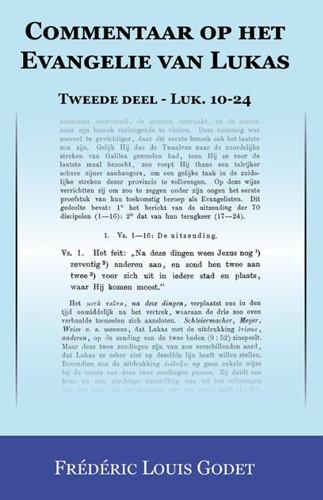 Tweede deel Luk. 10-24 (Boek)
