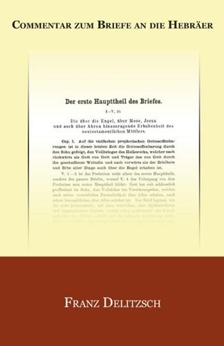 Commentar zum Briefe an die Hebräer (Paperback)