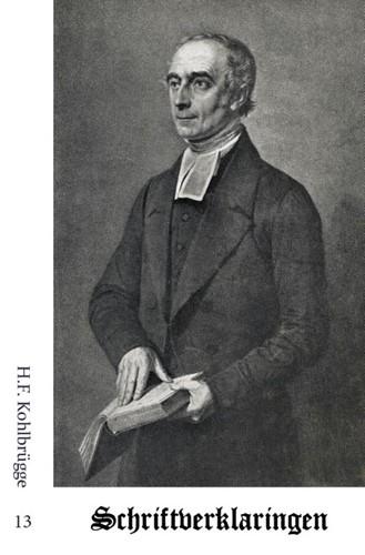 Schriftverklaringen 13 (Paperback)