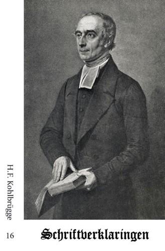 Schriftverklaringen 16 (Paperback)