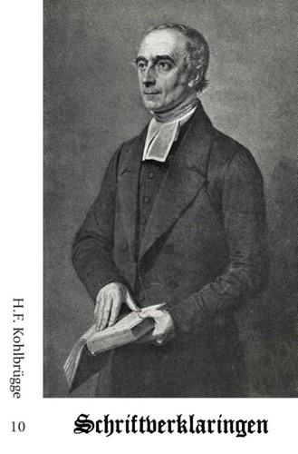 Schriftverklaringen 10 (Paperback)