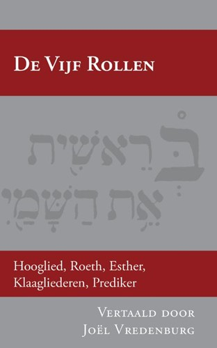 De Vijf Rollen (Paperback)