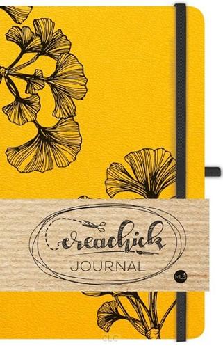 Creachick journal okergeel (Hardcover)