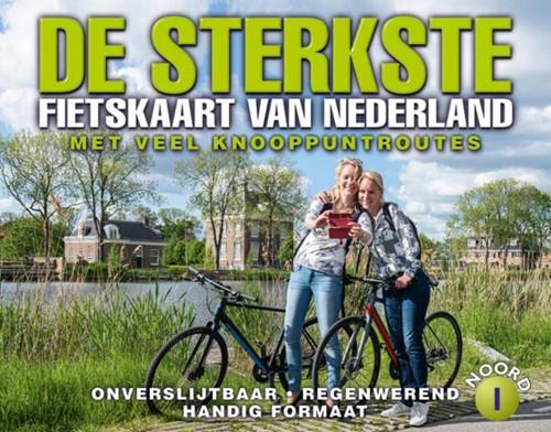 De sterkst fietskaart van Nederland deel 1 (Kaartblad)