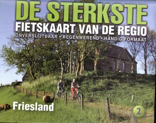 De sterkste fietskaart van Friesland (Kaartblad)