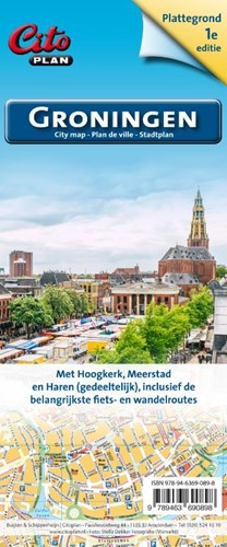 Citoplan stadsplategrond Groningen (Kaartblad)