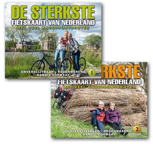De sterktse fietskaart van Nederland 1+2 (Kaartblad)